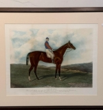 412. After Hunt & Son Litho, The Racehorse Chamant |  $84