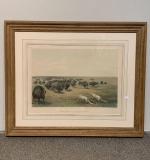 415. George Catlin. Lithograph, Buffalo Hunt |  $2,400