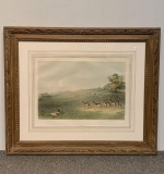 417. George Catlin Lithograph. Antelope Shooting |  $840