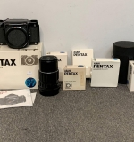 441. Pentax 6 x 7 Camera with Lenses and Accessories |  $930