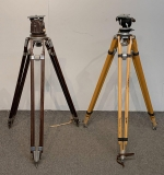 442. Two Vintage Camera Tripods |  $360