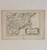 445. Jacques Nicolas Bellin. Map of NY & Pennsylvania |  $210