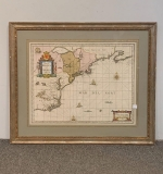 448. G. Valk and P. Schenk. Map of New England |  $840
