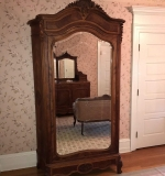 452. Fine French Carved Walnut Bedroom Suite |  $1,020