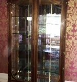453. French Louis XVI-style Curio Cabinet |  $660