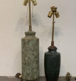 463A. A Pair of Bronze Table Lamps |  $300