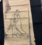 485. Lot of 12 Chinese Scrolls and Drawings |  $108