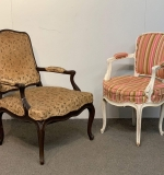 496. Two Louis XV-style Fauteuils |  $24