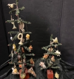 521. Two Decorated Feather Trees |  $437.50