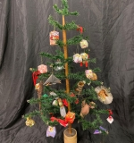 524. Decorated Feather Tree, 43in tall |  $375
