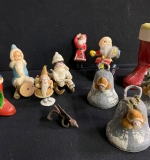 526. Lot of Vintage Christmas Collectibles |  $300