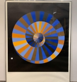 535. Victor Vasarely. Signed Lithograph, Abstract |  $390