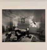 544. Jerry Uelsmann. Photograph, Bedroom with Raven |  $1,200