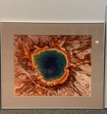 545. Signed Paul Chesley Photo, Grand Prismatic Spring |  $240