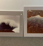 547. Two Signed Paul Chesley Nature Photographs |  $120