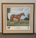 558. Richard Reeves. Lithograph, Secretariat |  $330