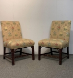 7. Pair of Georgian-style Mahogany Side Chairs |  $375