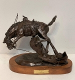 "13. Clay Dalhberg. Bronze, ""In A Storm"", '73 