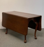 17. 19th C. Queen Anne Mahogany Drop Leaf Table |  $60