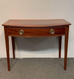 19. Federal Mahogany Console Table |  $210