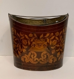 20. 19th C. English Marquetry Inlaid Peat Bucket |  $500