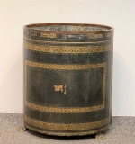 30. English Leather Bucket on Brass Paw Feet |  $343.75