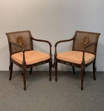 32. Pair of Adams-style Painted Armchairs |  $540