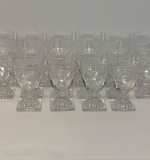 39. Thirty-One Hawks Crystal Glasses |  $330