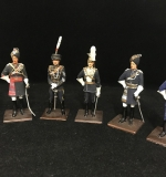 41. 6 Sentry Box Officers Soldier Figurines |  $250