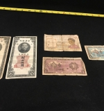 48. Chinese/Indochine/Russia Currency Grouping |  $37.50