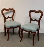 57. Pair of Victorian Side Chairs |  $37.50