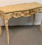 66. Louis XV-style Painted Dressing Table |  $343.75