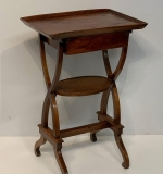 83. 19th Century Stained Pine One Drawer Stand |  $36