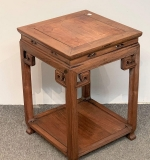139. Chinese Hardwood Side Table |  $150