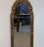 140. Georgian Style Chinoiserie Decorated Mirror |  $780