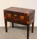 146. Mixed Wood Inlaid Lap Desk On Stand |  $156.25