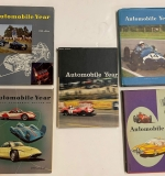 154. 5 Vols. Automobile Year Annual Review, 1956-1961 |  $84