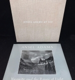 156. Grouping of Two Ansel Adams Books |  $112.50