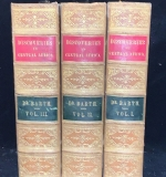 "165. 3 Vols. ""Travels & Discoveries"", Henry Barth, 1857 