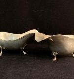 182. Two Sterling Silver Gravy Boats |  $216