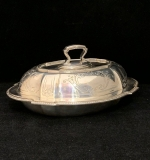191. Sterling Silver Covered Vegetable Tureen |  $540
