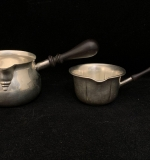 193. Two Sterling Silver Sauce Pots |  $108