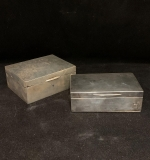 194. Two Sterling Silver Lidded Boxes |  $366