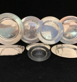 199. Eight Sterling Silver Golf Award Plates |  $840