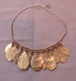 230. 14K Yellow Gold Leaf-design Necklace |  $1,000