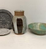 269. Four-pc. Modernist Pottery Grouping |  $112.50