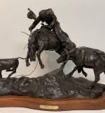 275. H. Clay Dahlberg. Bronze, A Mother's Wrath |  $812.50