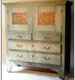 1904 Oak Byrdcliffe Arts & Crafts Cabinet. $99,000 (no buyer's premium)