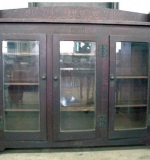 Rare, important Roycroft Arts & Crafts Bookcase. $83,600 (no buyer's premium)