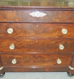 4-drawer Chest attributed to Boston, MA cabinetmaker, Isaac Vose. $21,850